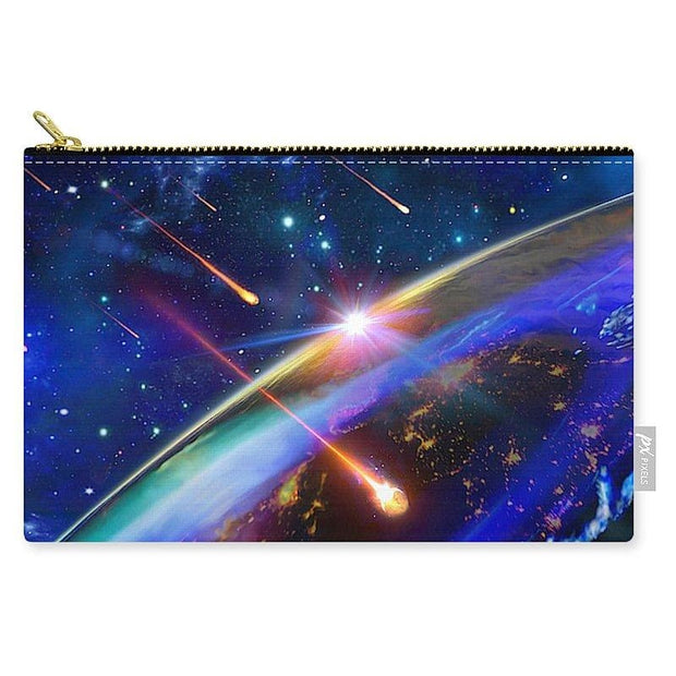 Incoming - Carry-All Pouch by Don White - Art Dreamer