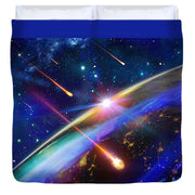 Incoming - Duvet Cover by Don White - Art Dreamer