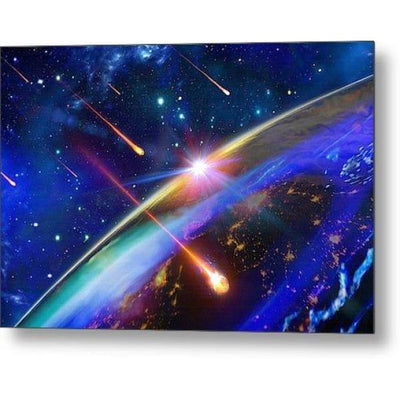 Incoming - Metal Print by Don White - Art Dreamer