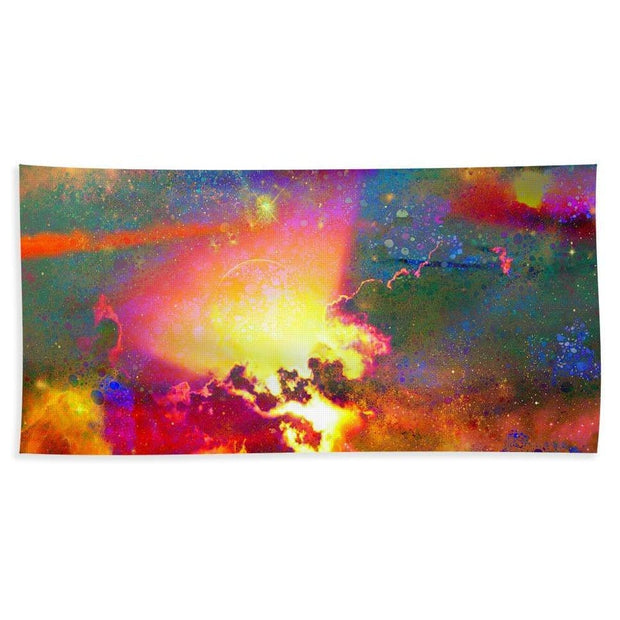 Light From A Hidden Source - Beach Towel - Beach Sheet (37 x 74) - Beach Towel