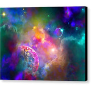 Neighbors - Canvas Print - 8.000 x 6.000 / Black / Glossy - Canvas Print