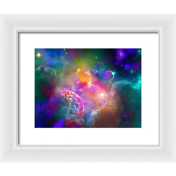 Neighbors - Framed Print - 12.000 x 9.000 / White / White - Framed Print