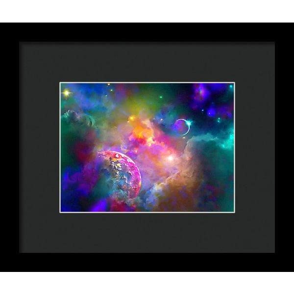 Neighbors - Framed Print - 8.000 x 6.000 / Black / Black - Framed Print
