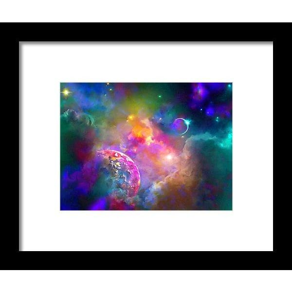 Neighbors - Framed Print - 8.000 x 6.000 / Black / White - Framed Print
