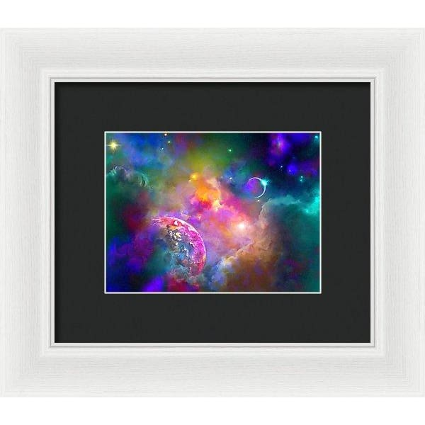 Neighbors - Framed Print - 8.000 x 6.000 / White / Black - Framed Print