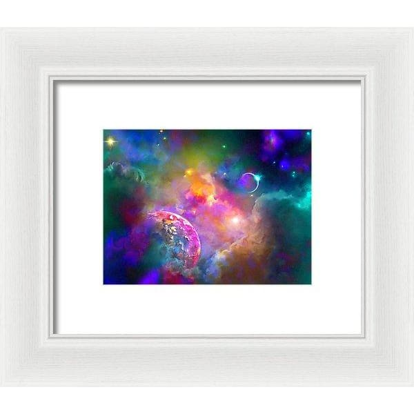 Neighbors - Framed Print - 8.000 x 6.000 / White / White - Framed Print