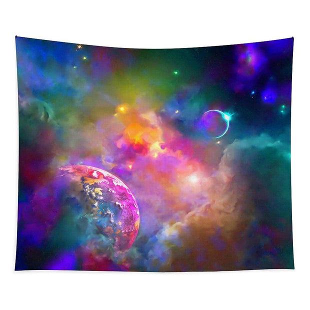 Neighbors - Tapestry - 50 x 61 - Tapestry
