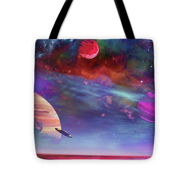 New Planet Geo-mapping - Tote Bag - 16 x 16 - Tote Bag