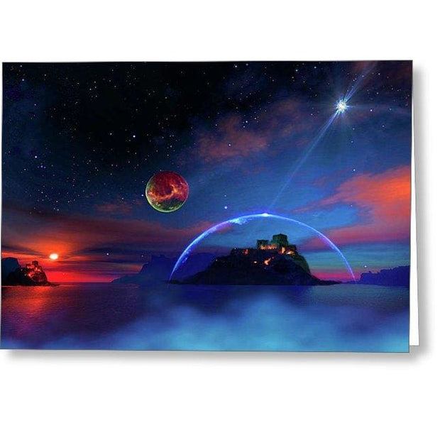 Private Planet - Greeting Card - Single Card - Greeting Card