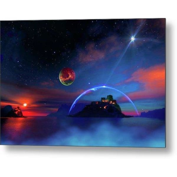 Private Planet - Metal Print - 12.000 x 8.000 - Metal Print