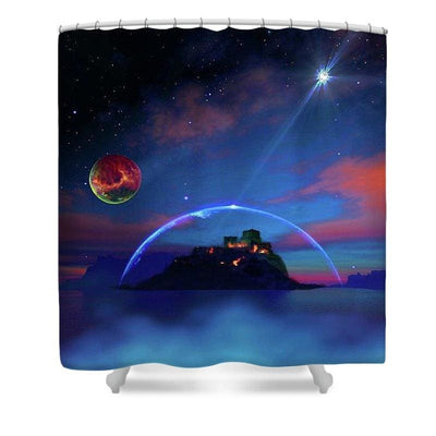 Private Planet - Shower Curtain - 71 x 74 Standard - Shower Curtain