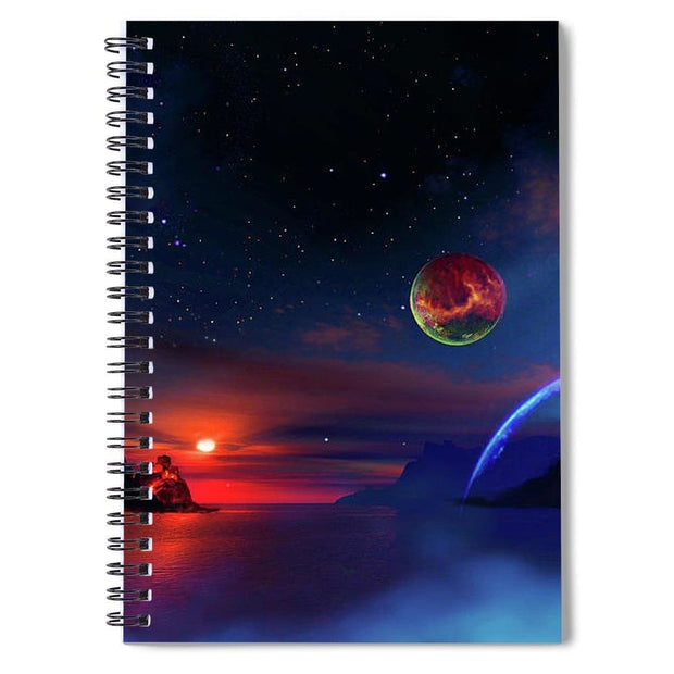 Private Planet - Spiral Notebook - 6 x 8 - Spiral Notebook