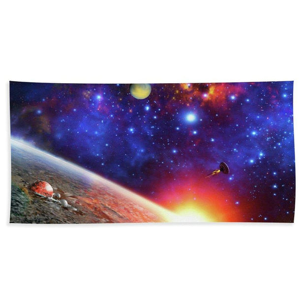 Relay Station - Bath Towel - Bath Sheet (37 x 74) - Bath Towel