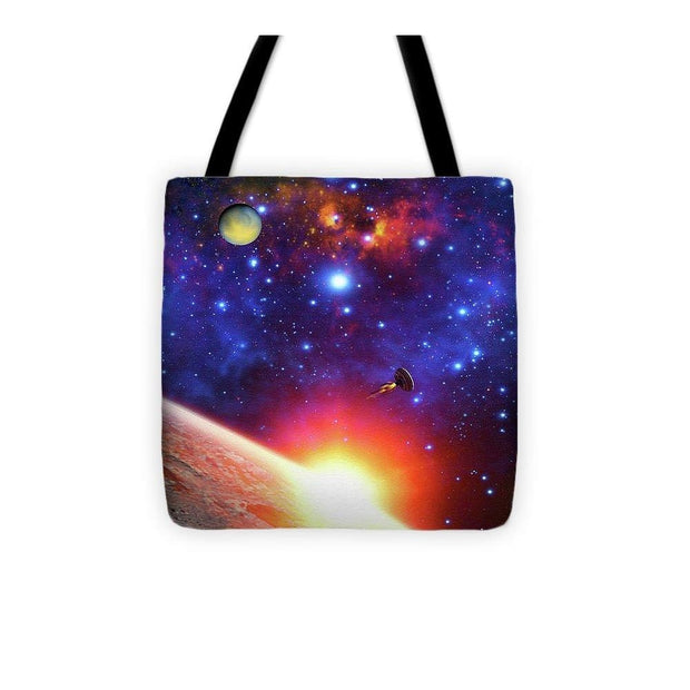 Relay Station - Tote Bag - 13 x 13 - Tote Bag