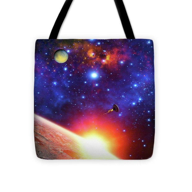 Relay Station - Tote Bag - 16 x 16 - Tote Bag