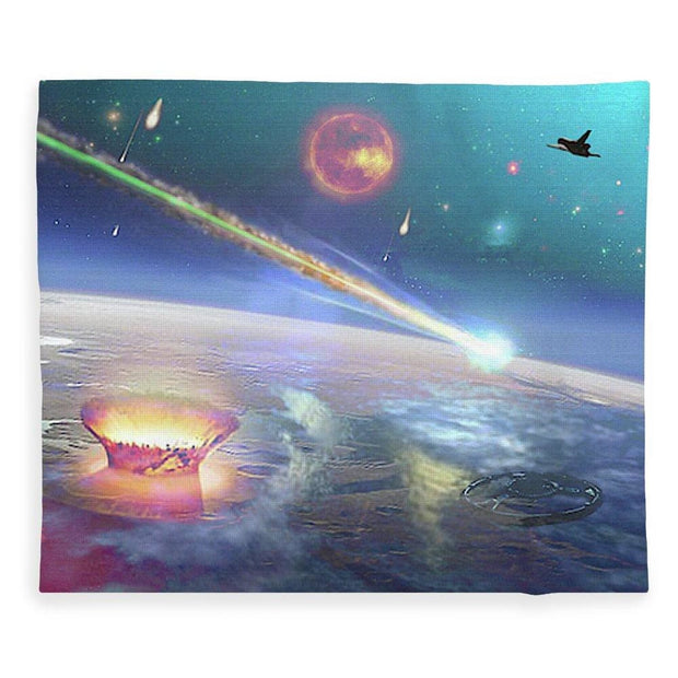 Restless Planet - Blanket - 50 x 60 / Plush Fleece - Blanket