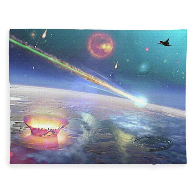 Restless Planet - Blanket - 60 x 80 / Plush Fleece - Blanket