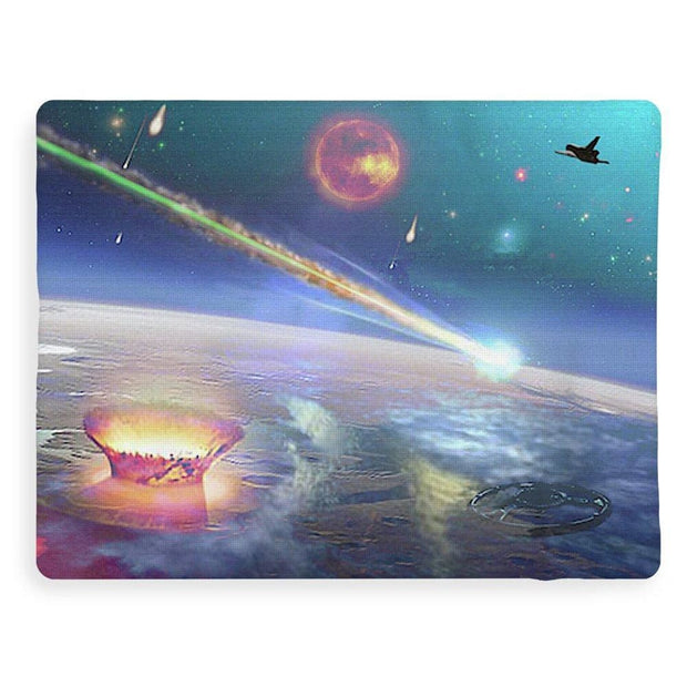 Restless Planet - Blanket - 60 x 80 / Sherpa Fleece - Blanket