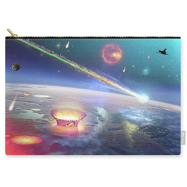 Restless Planet - Carry-All Pouch - Large (12.5 x 8.5) - Carry-All Pouch