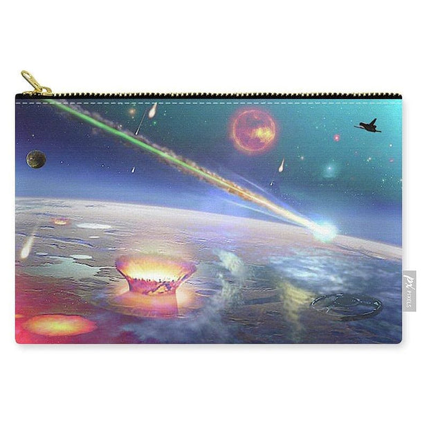 Restless Planet - Carry-All Pouch - Medium (9.5 x 6) - Carry-All Pouch
