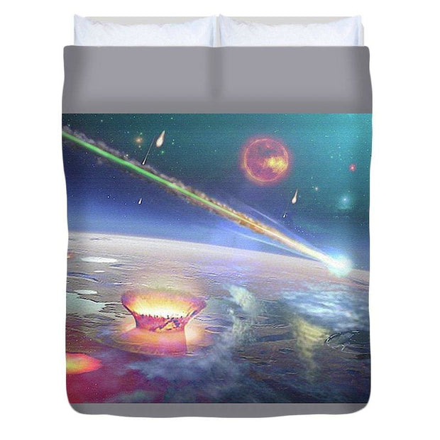 Restless Planet - Duvet Cover - Queen - Duvet Cover