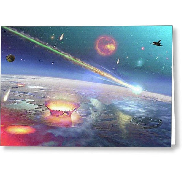 Restless Planet - Greeting Card - Single Card - Greeting Card