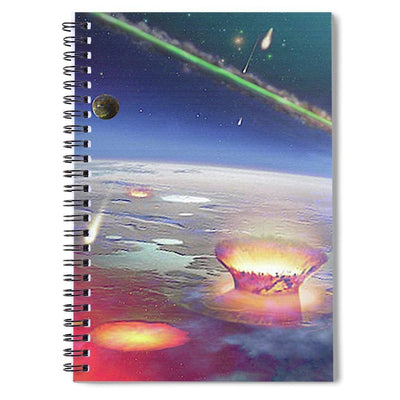 Restless Planet - Spiral Notebook - 6 x 8 - Spiral Notebook
