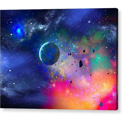 Rogue Planet - Acrylic Print - 8.000 x 6.000 / Hanging Wire - Acrylic Print