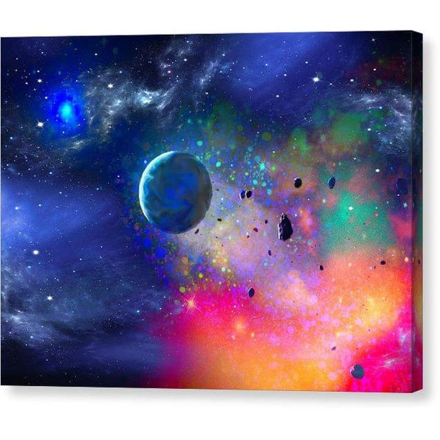 Rogue Planet - Canvas Print - 8.000 x 6.000 / Mirrored / Glossy - Canvas Print