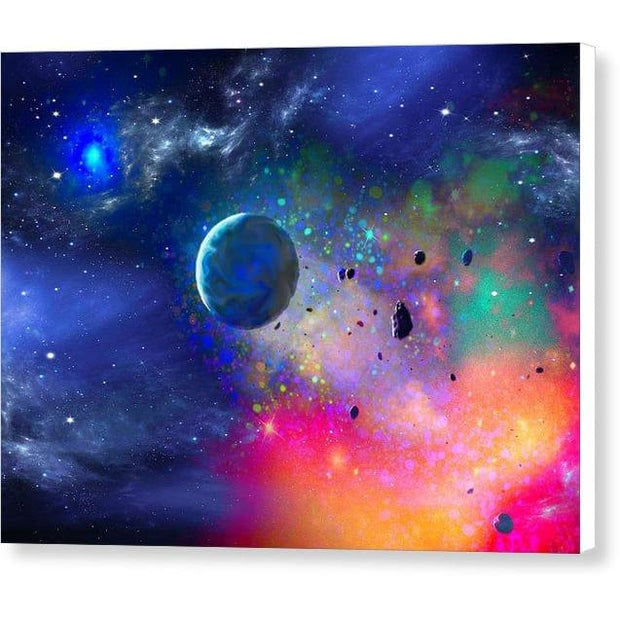 Rogue Planet - Canvas Print - 8.000 x 6.000 / White / Glossy - Canvas Print