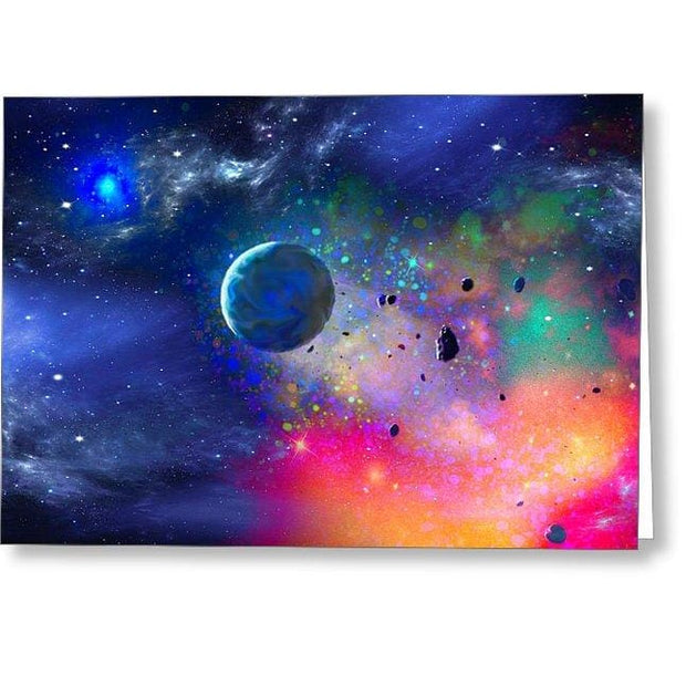 Rogue Planet - Greeting Card - Single Card - Greeting Card