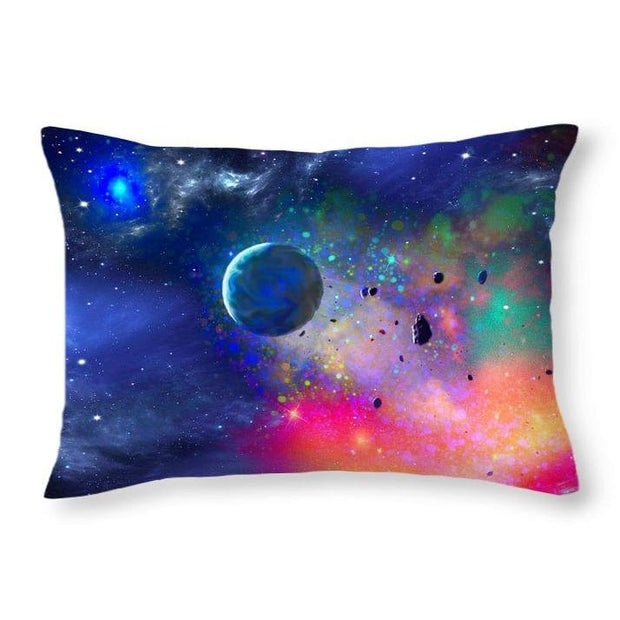 Rogue Planet - Throw Pillow - 20 x 14 / Yes - Throw Pillow