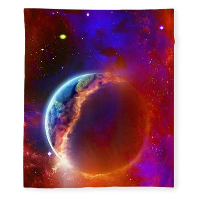 Ruptured Moon - Blanket - 50 x 60 / Plush Fleece - Blanket