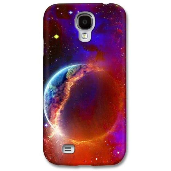 Ruptured Moon - Phone Case - Galaxy S4 Case - Phone Case