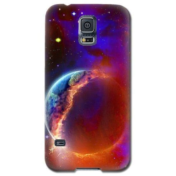 Ruptured Moon - Phone Case - Galaxy S5 Case - Phone Case