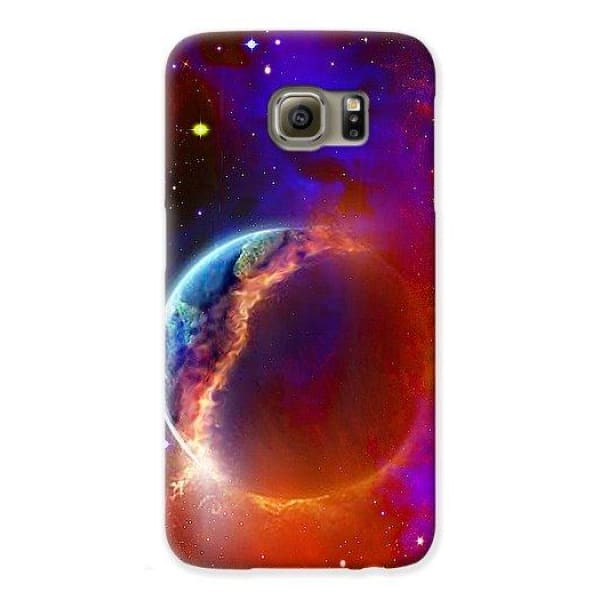 Ruptured Moon - Phone Case - Galaxy S6 Case - Phone Case