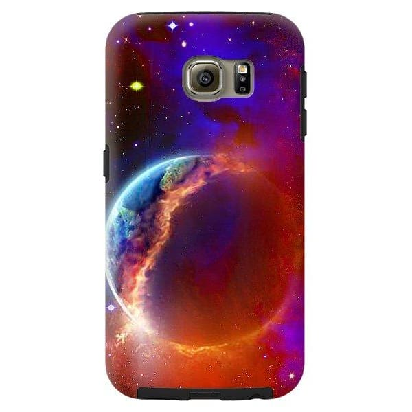 Ruptured Moon - Phone Case - Galaxy S6 Tough Case - Phone Case