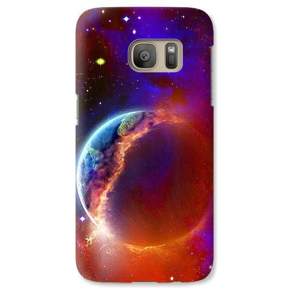 Ruptured Moon - Phone Case - Galaxy S7 Case - Phone Case