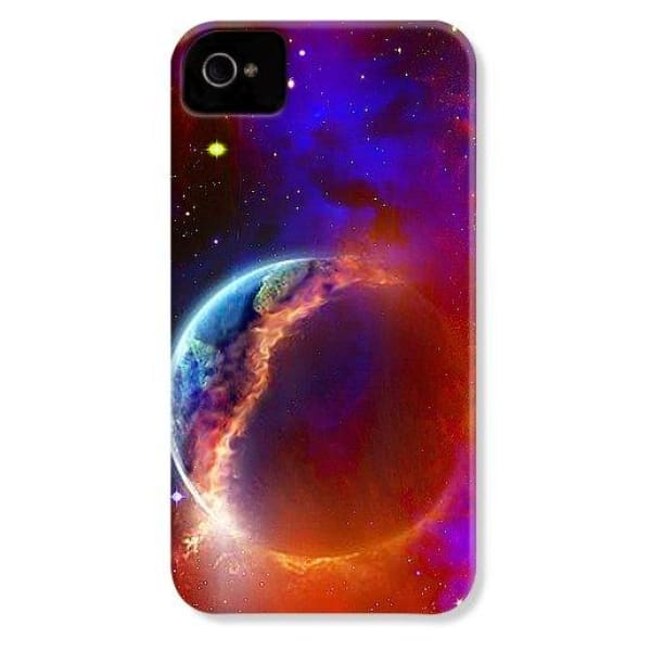 Ruptured Moon - Phone Case - IPhone 4 Case - Phone Case