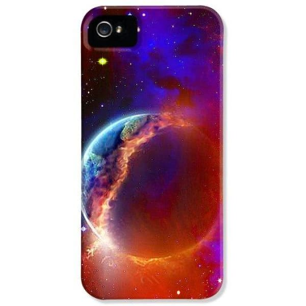 Ruptured Moon - Phone Case - IPhone 5 Case - Phone Case