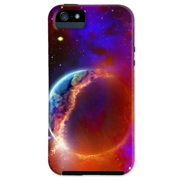 Ruptured Moon - Phone Case - IPhone 5 Tough Case - Phone Case