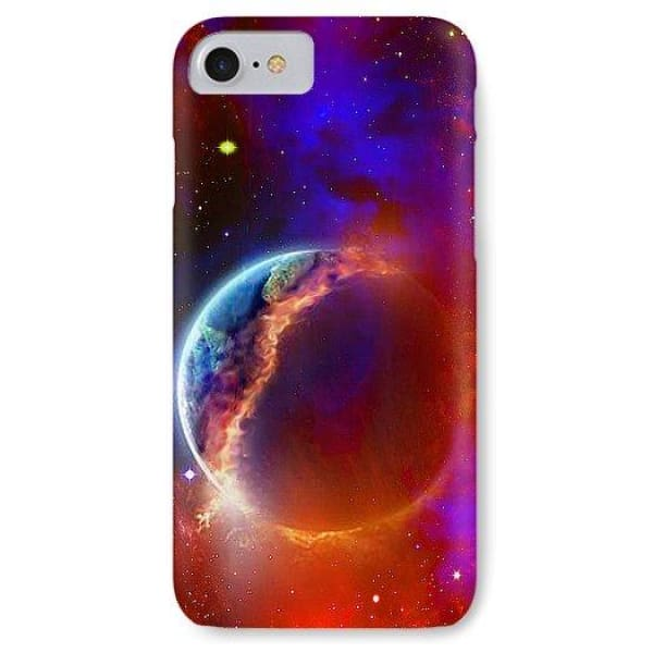Ruptured Moon - Phone Case - IPhone 8 Case - Phone Case