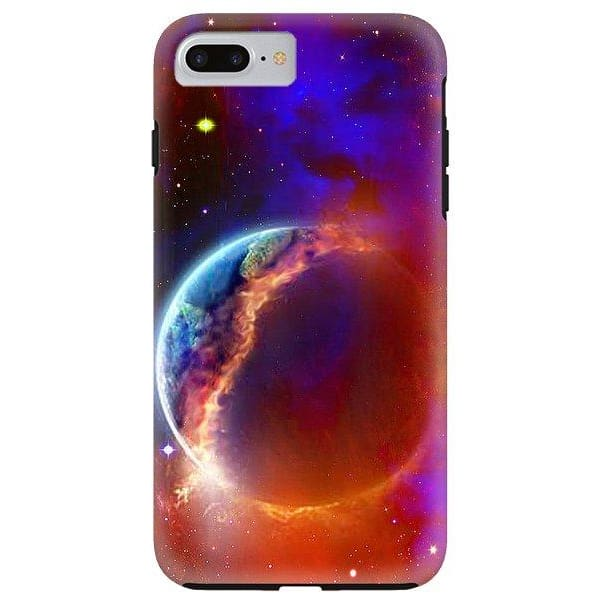 Ruptured Moon - Phone Case - IPhone 8 Plus Tough Case - Phone Case