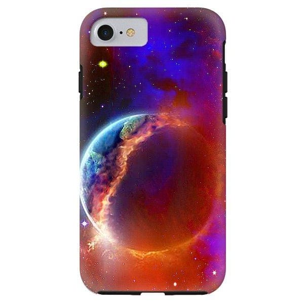Ruptured Moon - Phone Case - IPhone 8 Tough Case - Phone Case
