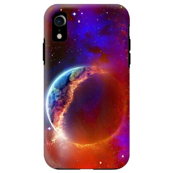 Ruptured Moon - Phone Case - IPhone XR Tough Case - Phone Case