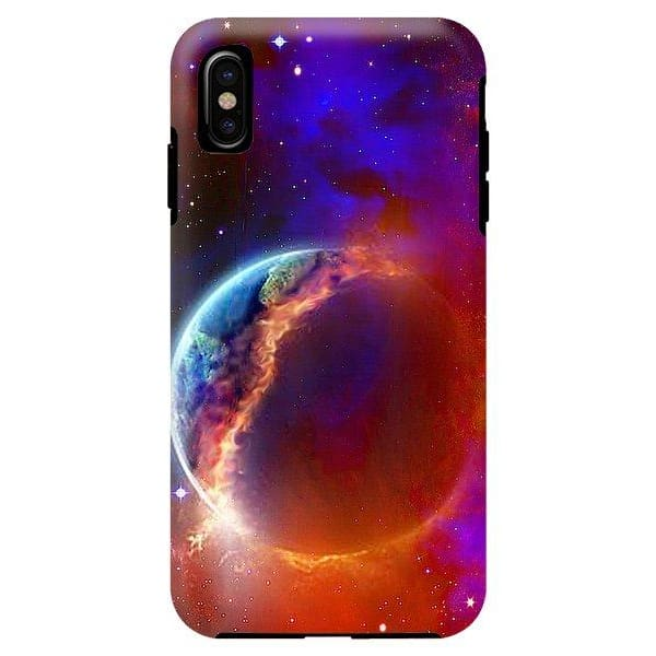 Ruptured Moon - Phone Case - IPhone XS Max Tough Case - Phone Case