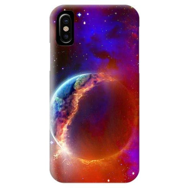 Ruptured Moon - Phone Case - IPhone XS Case - Phone Case