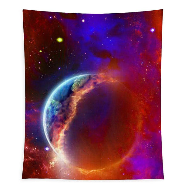 Ruptured Moon - Tapestry - 50 x 61 - Tapestry
