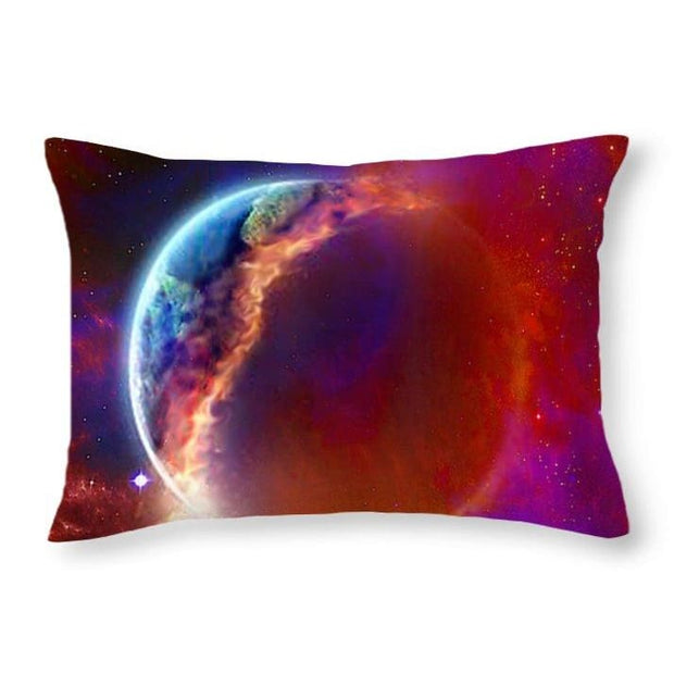 Ruptured Moon - Throw Pillow - 20 x 14 / No - Throw Pillow