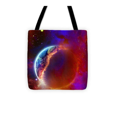 Ruptured Moon - Tote Bag - 13 x 13 - Tote Bag
